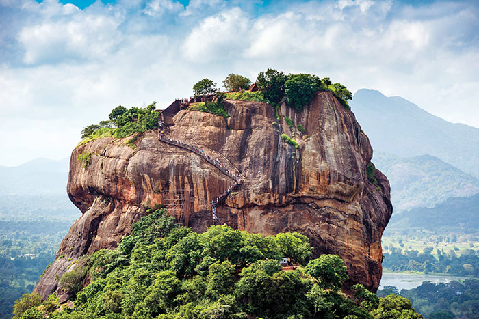 lion rock sri lanka