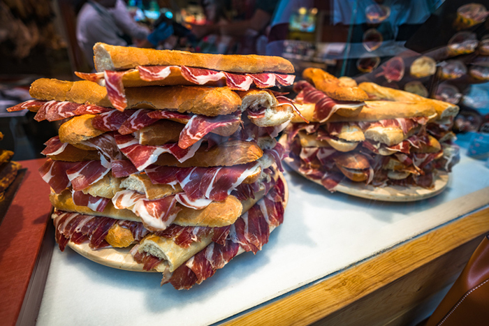 jamon is a spanish culinary staple