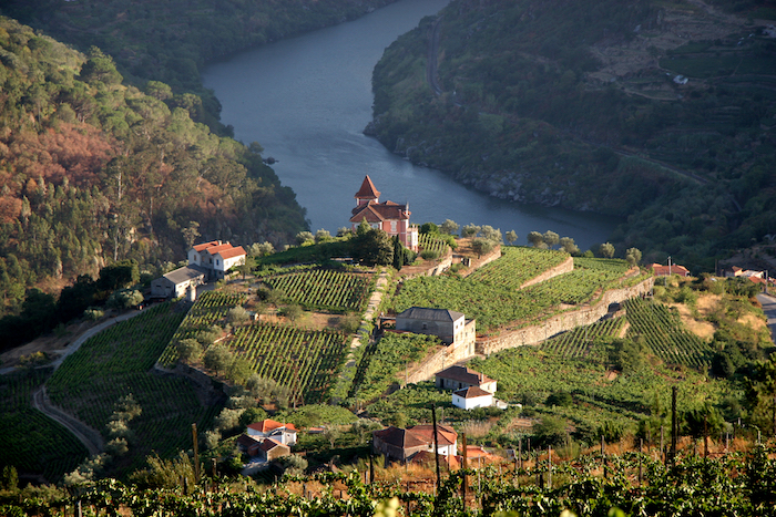 View of a winery over the Douro River in Portugal - 14 romantic travel experiences for Valentines Day