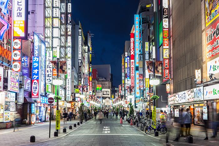 shinjuku is Tokyo's dining, entertainment and karaoke heart