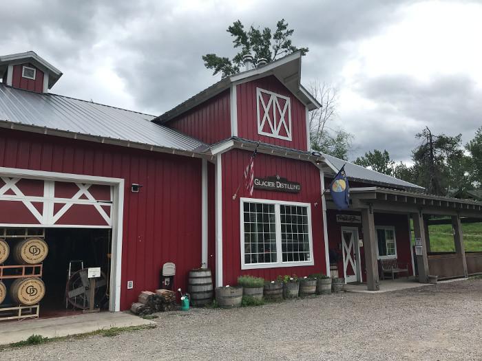 Glacier distilling company montana