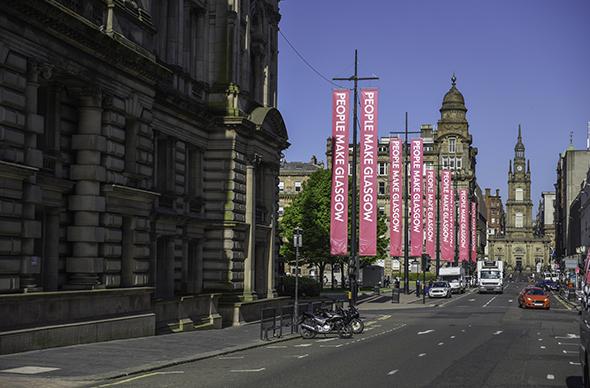 Glasgow Georgian streets
