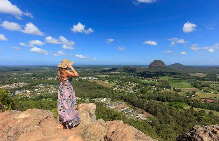 Glasshouse Mountains, Sunshine Coast Hinterland