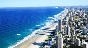 Gold Coast beach front
