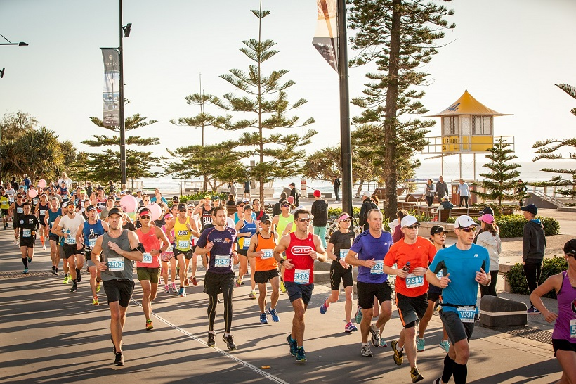 Gold Coast Marathon. Photo: Tourism and Events Queensland