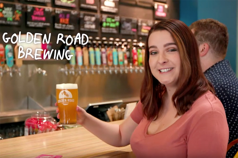California craft beer - golden road brewery