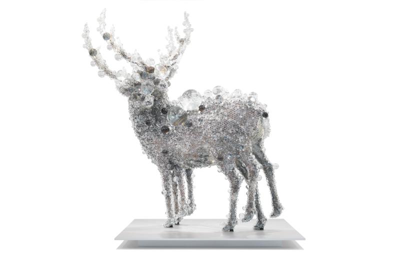 Pix-cell Double Deer#4 2010, Kohei Nawa. Image: QAGOMA