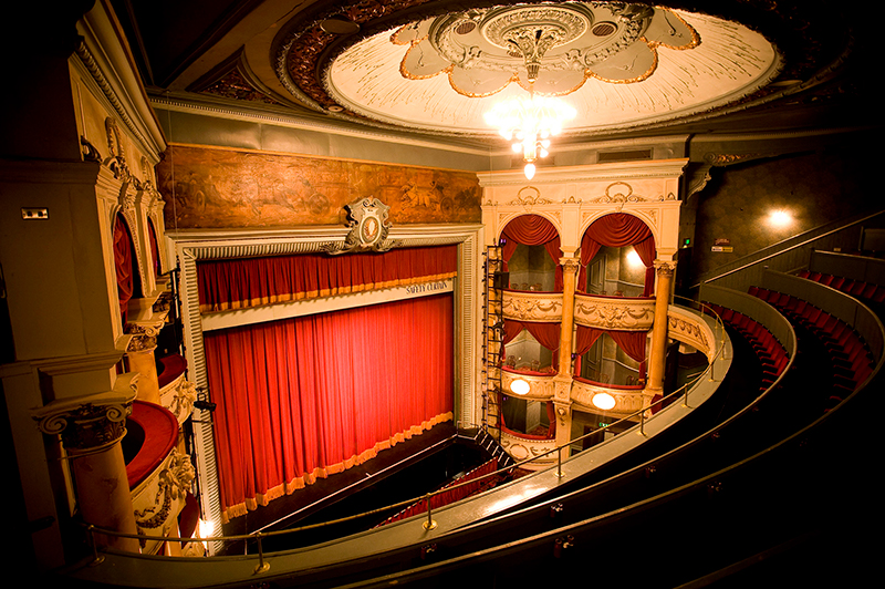 The interior of the Grand Opera House in York.