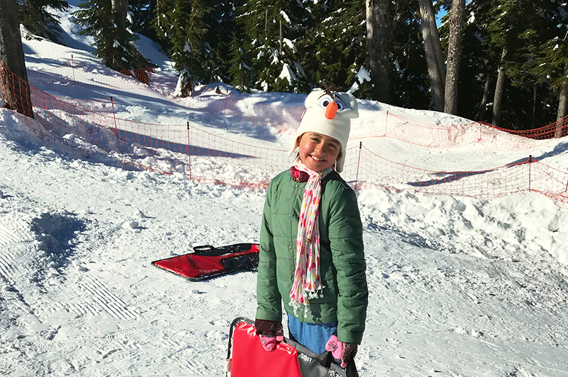 Child on Grouse Mountain