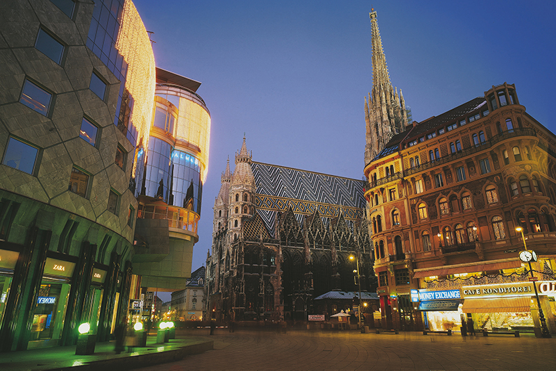 Haas Haus in Vienna