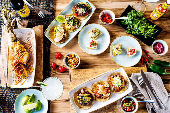 The colourful food of Tako, a new Mexican slash Korean restaurant in Hamilton Island