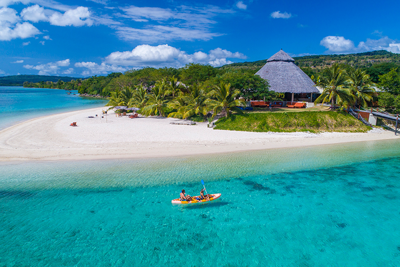 Adults only resort on Efate, Vanuatu