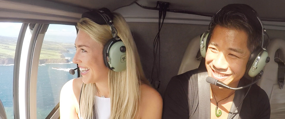 helicopter ride hawaii