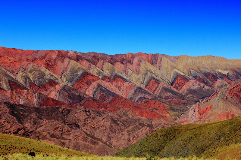 The Quebrada de Humahuaca in Argentina.