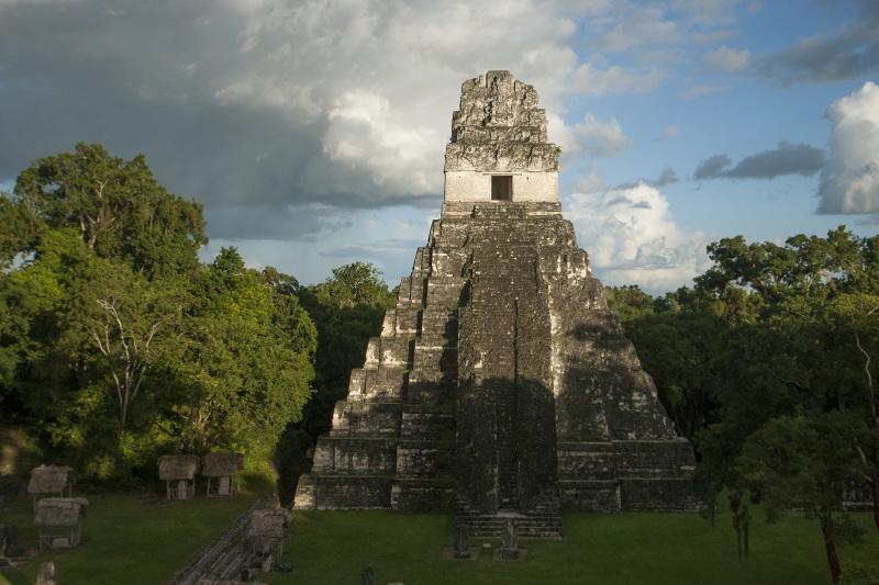 Temple IV in Tikal, Guatemala.