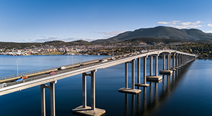 Hobart city bridge