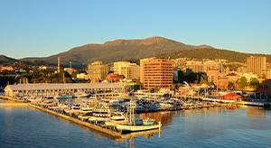 Hobart sullivans harbor dawn