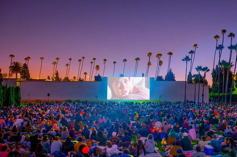 The Sixth Sense movie screening at Hollywood Forever Cemetery