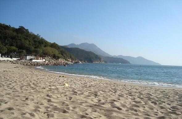 lamma island beach hong kong