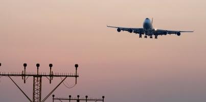 Adelaide to Hong Kong flight landing