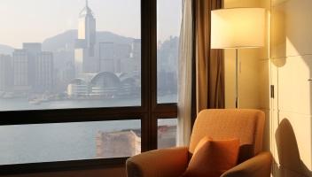 Hong Kong Island Hotel Room