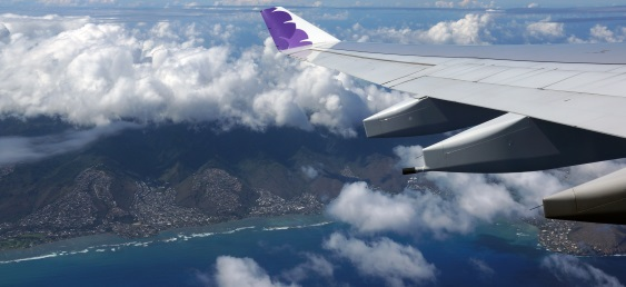 how long does it take to fly to hawaii