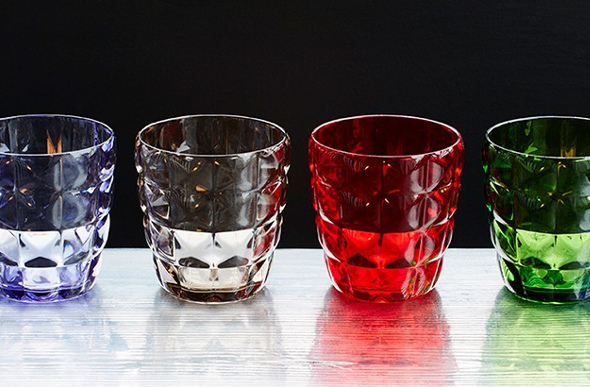 Mario Luca Giusti glassware from Mama Shelter hotels.