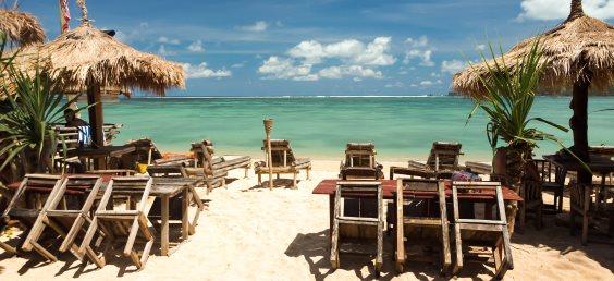 Hotel on Kuta beach