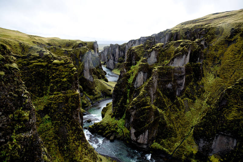 ancient canyon iceland