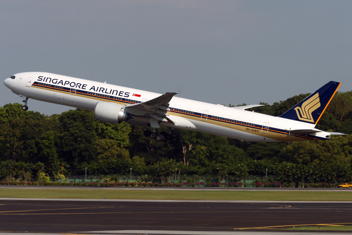 Flight review - Singapore Airlines Business Class - plane