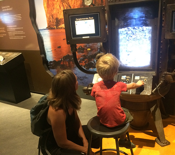 Family at Canadian Museum of Nature, Ottawa