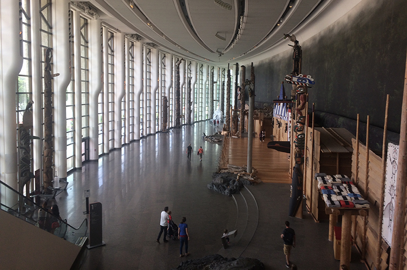 Great Hall in the Museum of History, Ottawa