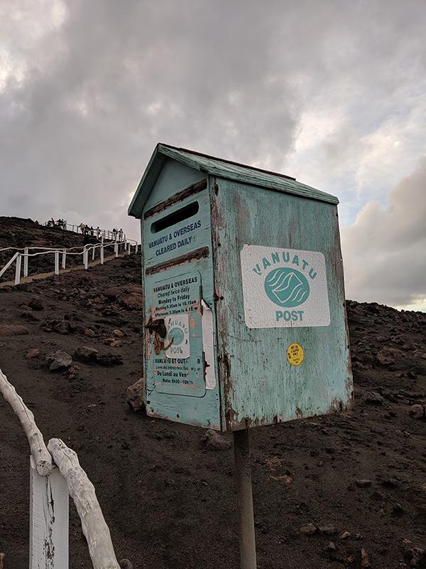 Mt Yasur climb Vanuatu