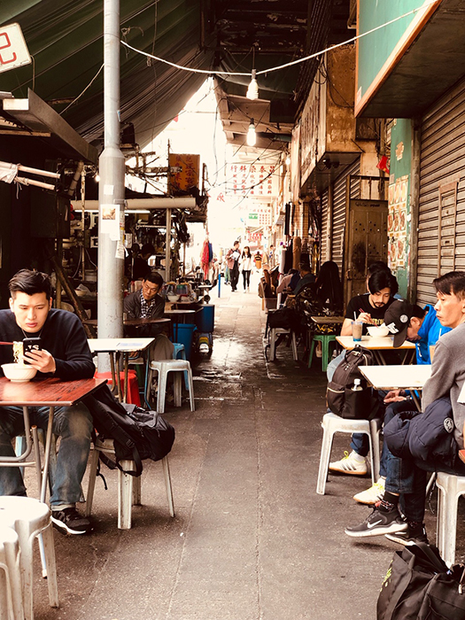 Street food in Sham Shui Po. (Image: Paul Ewart)