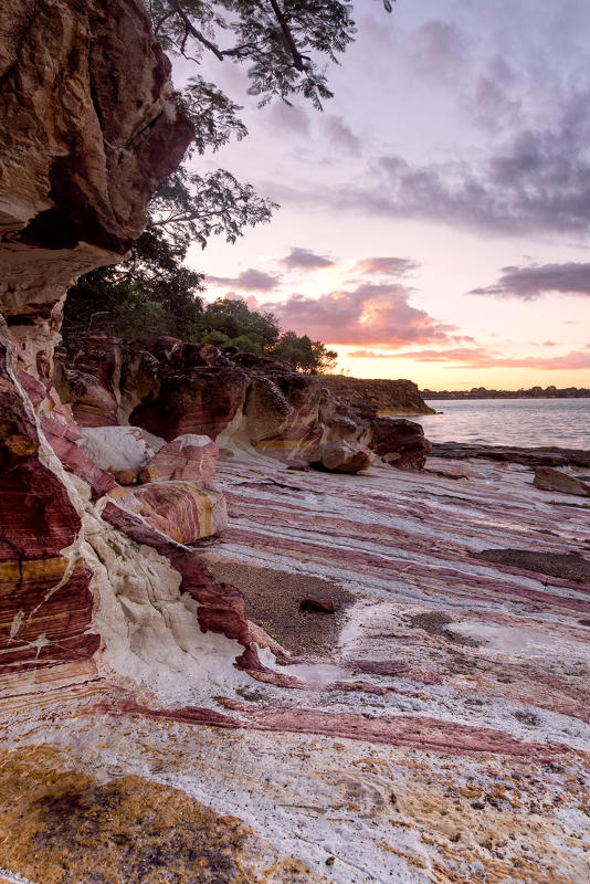 rock formations along water East Point Reserve Darwin