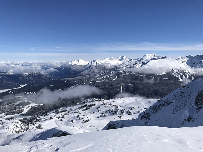 Mountain views in Whistler