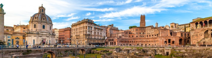 Rome Accommodation: See Imperial Forums