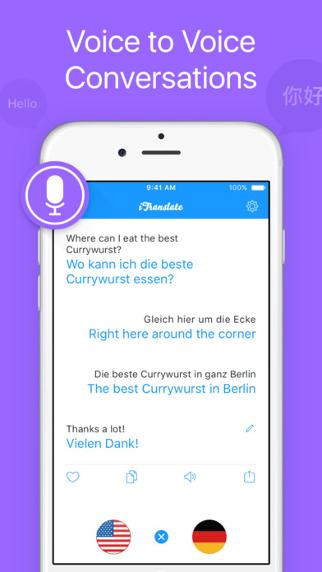 iTranslate Voice screenshot