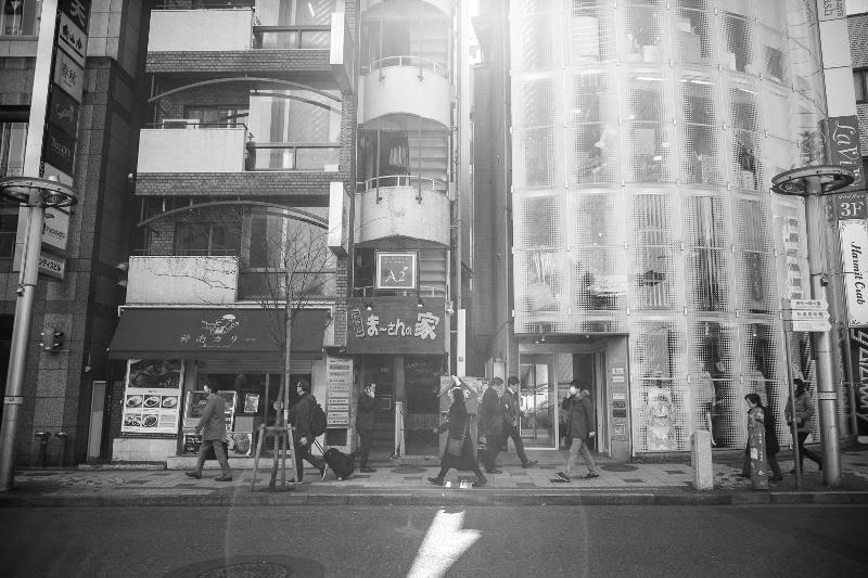 people walking on street in tokyo