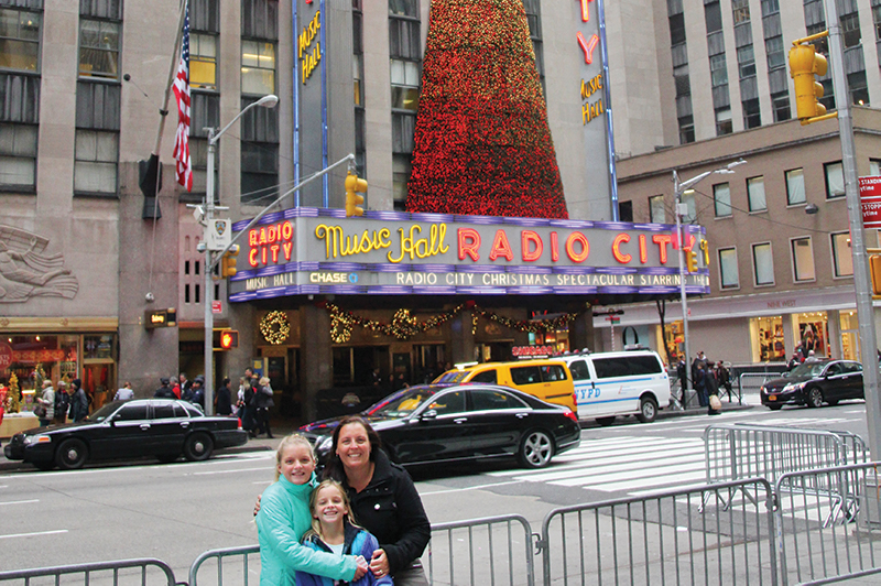 FC travel expert Jodie Crawley in NYC