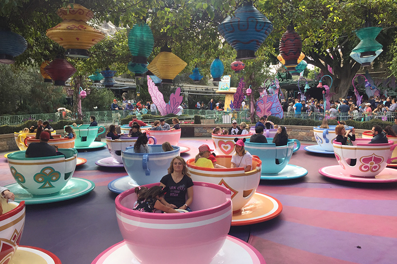 Mad Tea Party at Disneyland Resort, Anaheim