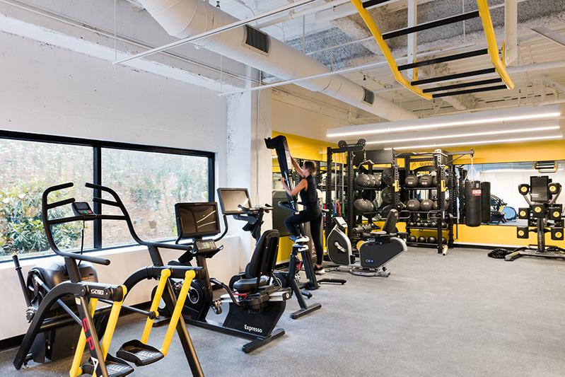 Dream Hollywood Hotel gym in LA