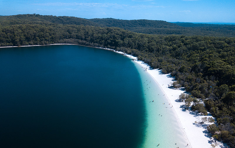 Lake Mckenzie by Matthew Coles for Kingfisher Bay Resort