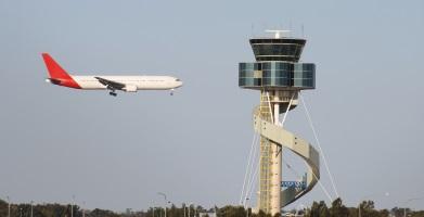 Adelaide to Sydney Flight Landing