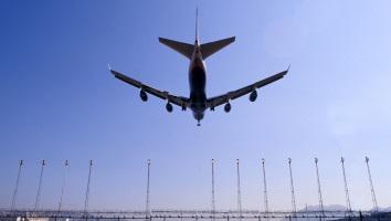 Sydney to Hong Kong Flight Landing