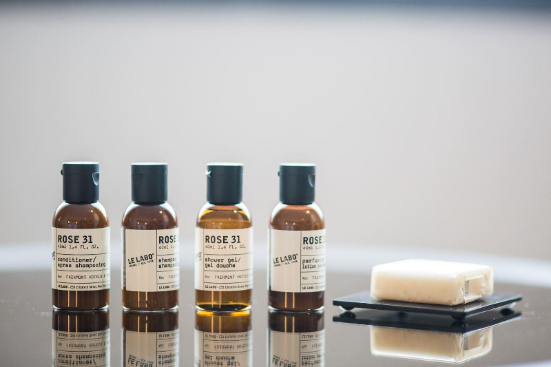 Le Labo Toiletries at the Fairmont, Whistler