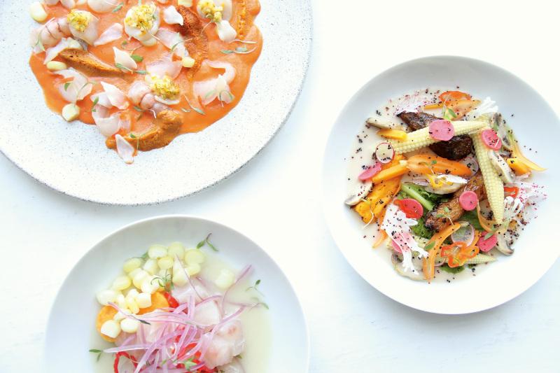 Nikkei cuisine at Mitsuharu Tsumura's Maido restaurant in Lima, Peru.
