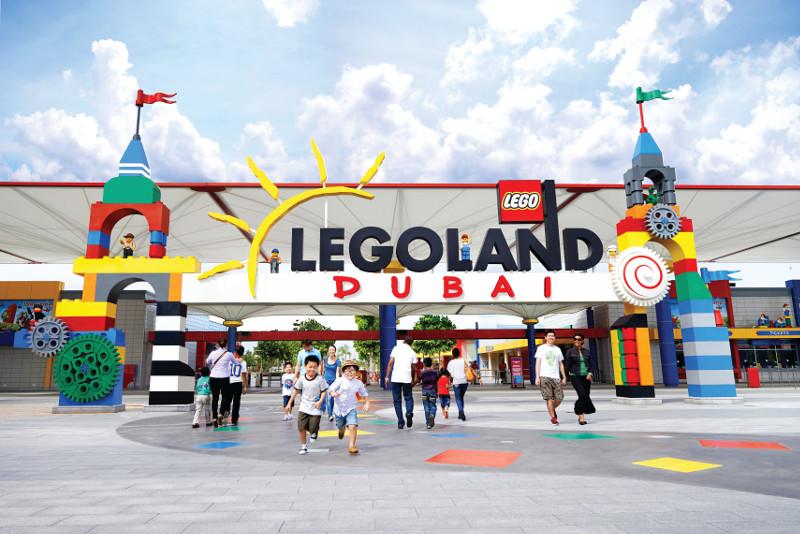 Entrance Legoland Dubai