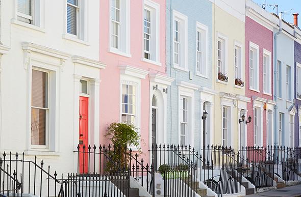 pastel homes in kensington