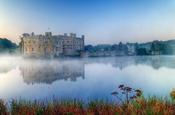 Leeds Castle in England.